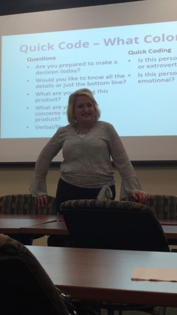 Kelly teaching at Vanderbilt